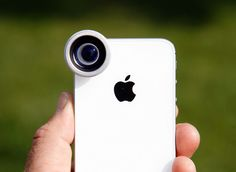 Get real-camera effects with smartphone lenses