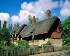William Shakespeare's childhood home in Stratford-upon-Avon, England
