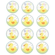 Baby Duck Envelope Seals