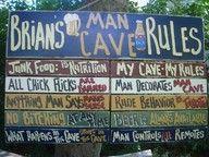 The man cave. haha!