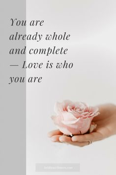 Love is who you are | Self-love | Spiritual healing | Spiritual awakening | 3 Principles | #loveyourself #selflove #emotionalwellbeing #spiritualguidance