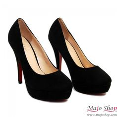 Scarpe Scamosciate con Plateau Tacco Alto  Woman Shoes Pumps  Eleganti, Belle e Comode!