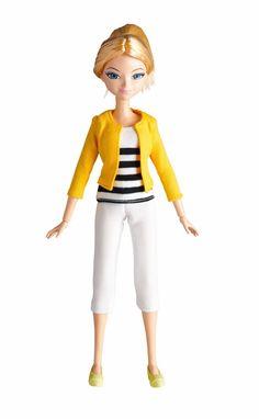 "Amazon.com: Miraculous Chloe Fashion Doll, 10.5"": Toys & Games"