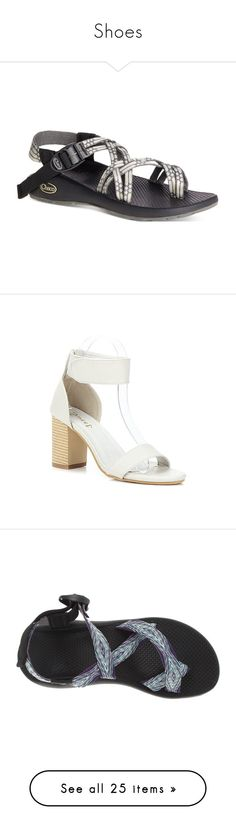 """""""Shoes"""" by dancindiva2424 ❤ liked on Polyvore featuring shoes, sandals, light beam, chaco footwear, chaco sandals, chaco, chaco shoes, wide heel sandals, chunky heel shoes and chunky heel sandals"""