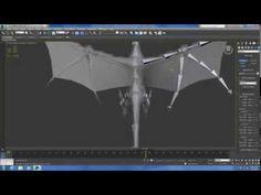 Tutorials - 8 minute Dragon Rig - Bones - no audio - Annotations only