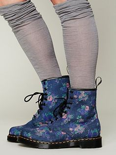 Free People Cecil Bouquet Doc Martens