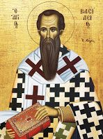 Basil the Great icon St Basil's, Religious Paintings, Byzantine Icons, Religious Images, Good Deeds, Orthodox Icons, Meant To Be, Hold On, Saints