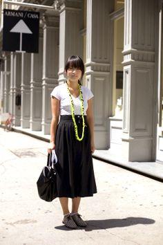 On the Street…….Yohji Femme, Soho « The Sartorialist