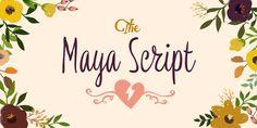 Font dňa – Maya Script - http://detepe.sk/font-dna-maya-script/