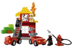LEGO DUPLO My First Fire Station $28