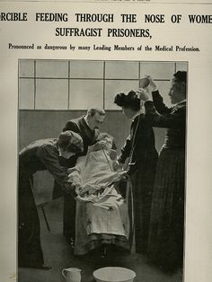 Forcible feeding through the nose of women suffragist prisoners. They actually took photographs! History Of Earth, Women In History, Motivational Quotes For Students, Leadership Quotes, Hindi New Year, Valentine Love Quotes, Emotional Photos, Morning Love Quotes, Brave Women