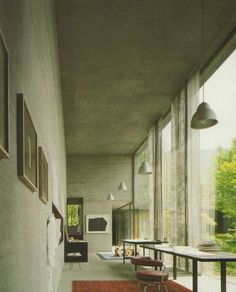 Peter Zumthor's House