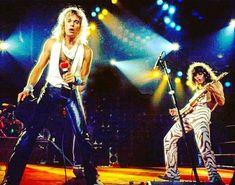Van Halen 2, Alex Van Halen, Eddie Van Halen, Gibson Flying V, Music Down, Diver Down, David Lee Roth, Hollywood California, Sound Of Music