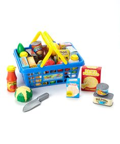 Get to the Grocer Set... to go with the play kitchen, of course (in a couple years anyway, no need to rush things!)