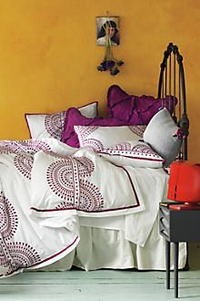 Imogen Duvet Set--Anthropologie. Want this for my room! Crazy expensive, even on sale :/