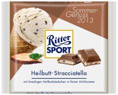 RITTER SPORT Fake-Sorte Heilbutt-Stracciatella