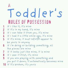 Toddler Creed Poem | Toddler Creed