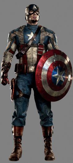 The Evolution of Captain America's Uniform - Howard Stark Field Uniform — GeekTyrant