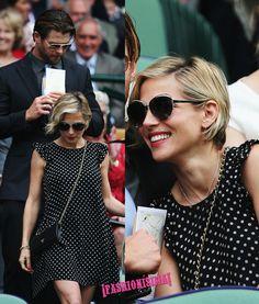Match Point para Victoria Beckham y otras celebrities en Wimbledon