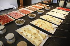 Spanish delicacies as far as the eye can see.