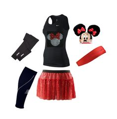 RunDisney, Minnie Mouse Outfit