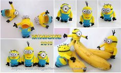Ravelry: Minion Kinder Surprise egg pattern by Laila Saide