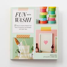 35 Ways to Instantly Refresh Your Home, Accessories, and Packages with Washi Tape Washi tape has become the obsession of crafters, scrapbookers, and package fanatics, and now they'll know just how many ways to use it! This inspiring craft book presents 35 delightfully unique and sophisticated projects for decorating the home, accessories, and stationery with washi tape. Using simple techniques and basic materials, crafters can create a pixel heart to adorn their walls, accessorize their…