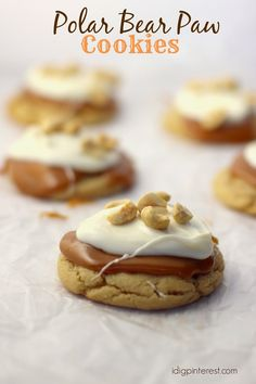 I Dig Pinterest: Polar Bear Paw Cookies