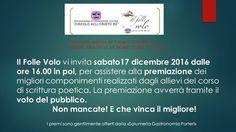 Premiazioni del Corso Scrittura Poetica a Brescia http://www.panesalamina.com/2016/53008-premiazioni-del-corso-scrittura-poetica-a-brescia.html