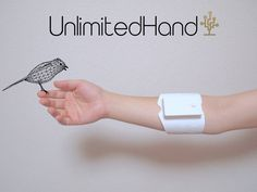 UnlimitedHand is the world's first video game controller with newly developed haptic feedback technology.