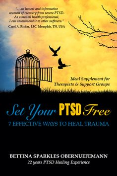 Set Your PTSD Free - an EZ read in non-clinical language about PTSD causes, symptoms and universal healing tools.