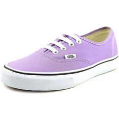 Vans Authentic Women Skate Shoes (43 CAD) ❤ liked on Polyvore featuring shoes, sneakers, purple, purple sneakers, traction shoes, skate shoes, vans sneakers and grip trainer