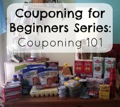 Couponing for Beginners Series: Couponing 101 | DIYfaerie