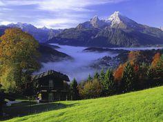 Wunderbar Gebirgslandschaft!  Almudena, Bavaria (Alemania)