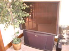 Projection TV 55inch Philips/Magnavox - http://get.sm/UfONgzT #tradebank Home Theatre Systems,Charlotte NC