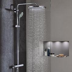 Grohe Euphoria XXL System 310 Duschsystem mit Thermostatbatterie für Wandmontage