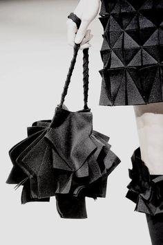 Yohji Yamamoto (Fall 2013) Fashion Bags dbdaed17d8000