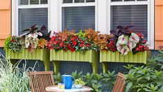 DIY Window Boxes.  For more DIY ideas, download Lowe's Creative Ideas free on the Apple Newsstand.