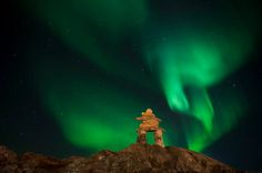 Ron Wassink: The Northern Lights of Rankin Inlet Heaven Is Real, Polar Night, Parts Of The Earth, Trail Of Tears, See The Northern Lights, Painted Pony, Native American History, American Indians, People Of The World