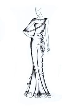 7 best fashion designs images all about fashion my drawings Carolina Herrera Jackets evening gown everlasting dream