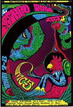 Jethro Tull Original Concert Handbill