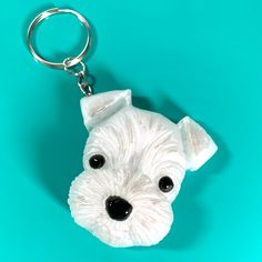 Creat an adorable one of a kind schnauzer keychain out of epoxy resin with this silicone mold. Diy Resin Gifts, Schnauzer, Epoxy, Silicone Molds, Personalized Items, Standard Schnauzer