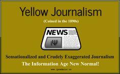 #YellowJournalism #FakeNews #iPredator Image-Free to Share, D/L, Rename for Educational Purposes. iPredator Inc. New York, USA  Yellow Journalism: https://history.state.gov/milestones/1866-1898/yellow-journalism