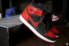 2001 Air Jordan 1 High OG Bred #airjordan #sneakerhead