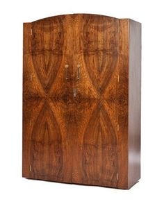 30's Deco Book-matched Armoire. $1,995.00, via Etsy.