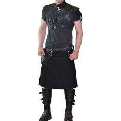 Gothic-Herrenrock / Kilt Warden