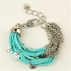 Faux Suede Cord Bracelets