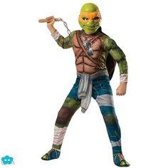 Disfraz de Michelangelo Tortugas Ninja Movie para niño