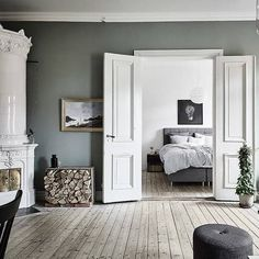 a very Scandi-inspired space.