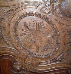 armoire normande cauchoise de mariage en ch ne sculpt antiquit s lombart proantic house. Black Bedroom Furniture Sets. Home Design Ideas
